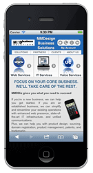 Mobile Web Design By MMDBiz