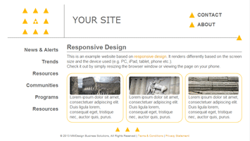 Responsive Web Design By MMDBiz (MMDesign Custom Template)